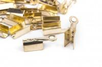 Зажим ZJM-002 золото