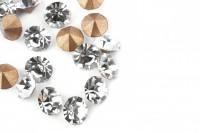 Шатоны без оправы SS16 Crystal, ≈20 шт.