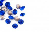 Шатоны без оправы SS16 Sapphire, ≈20 шт.