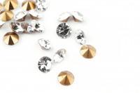 Шатоны без оправы SS18 Crystal, ≈20 шт.