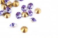 Шатоны без оправы SS18 Provence Lavender, ≈20 шт.