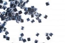 Бусины стеклянные Кубики BSK 003 (≈100 шт)